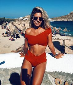 Summer Style & Beach Wear Ideas 2017 / 2018 Bikini Babes – Sexy Girls in Beachwear Summer Suits, Summer Wear, Summer Time, Teen Summer, Spring Summer, Outfit Summer, Style Summer, Summer Nights, Spring Break