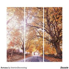 Liven up the walls of your home or office with Nature wall art from Zazzle. Check out our great posters, wall decals, photo prints, & wood wall art. Triptych Wall Art, Wood Wall Art, Wall Art Decor, Illusions, Wall Decals, Country Roads, Autumn, Nature, Prints
