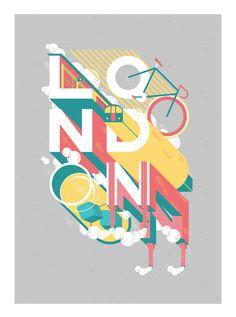 Show us your type - London by Pablo Álvarez, via Behance