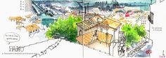 URBAN SKETCHERS FRANCE: Mon Sète à moi