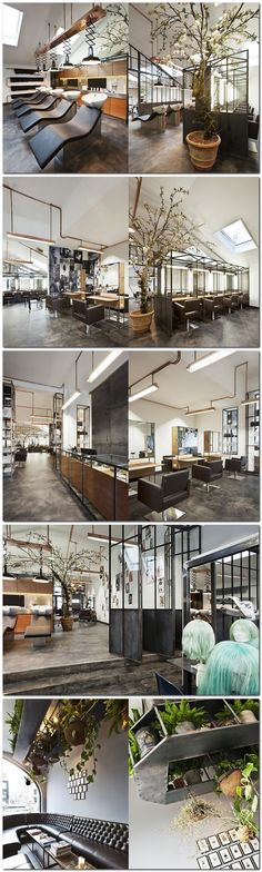 Mogeen hair salon, Amsterdam #peluqueria #hairsalon
