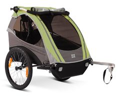 Burley d'Lite bike trailer. We use this thing all the time