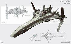 Une sélection de 25 concepts de design de vaisseaux spatiaux tous plus beaux les uns que les autres, imaginés et dessinés par l'illustrateur russe KaranaK, s