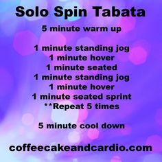 Solo spin workout! You don't need a spin class in order to have a great workout.