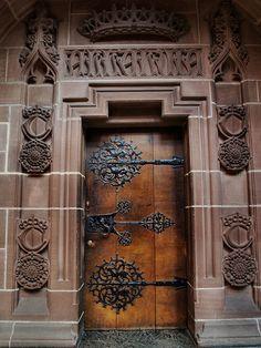 Doors, gates, and gateways to somewhere else. Door Gate, Door Hinges, Door Knobs, Cool Doors, Unique Doors, Portal, Entrance Doors, Doorway, Grand Entrance
