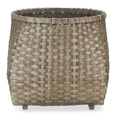 """Planter Basket: 21 1/2"""" diam., 20"""" high; 7 lb."""