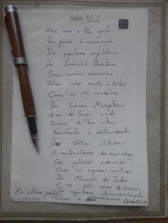 Edu Cezimbra: Amor à História