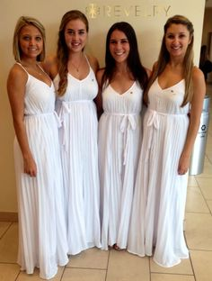 Custom group orders for sorority recruitment!  Lilly Maxi Dresses by Revelry! Unlimited colors, sizes, and styles!