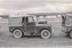 Land Rover 86 Serie One soft top canvas WOLF militar. NZ Military Land Rover