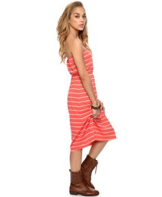 Essential Striped Tube Dress | FOREVER21 - 2000042912