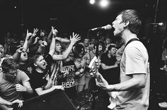 Title Fight, one of the BEST hardcore/pop punk bands in existence! Sound Of The Underground, Pop Punk Bands, Sweet Pic, Alternative Music, Infatuation, Music Bands, Concerts, Rock Bands, Rock And Roll