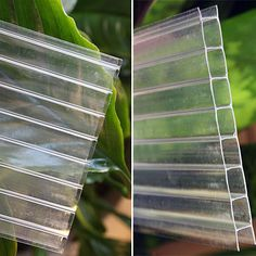 Easy Ship 2' Wide Twinwall Polycarbonate - Greenhouse Polycarbonate Sheets 2'x6' $22.00