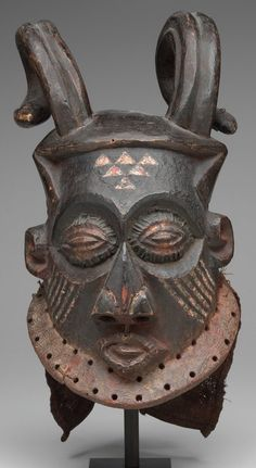 Horned Forest Spirit Mask, Artist Unknown (Kuba)