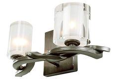 Braid 2-Light Vanity, Insignia on OneKingsLane.com