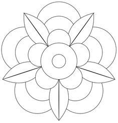 ZENTANGLE TEMPLATES   The Bright Owl: Zendala Dare #41 template   Zentangle Pics to Do