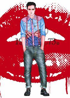 Fashion Illustration MPF. #voguemagazine #mpfisme #moda #madeinitaly #couturedress #vogue #fashionstyle #fashionblogger #fashionillustration #fashionista #man #denim #sportswear
