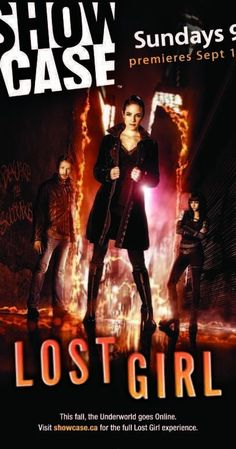 Created by Michelle Lovretta.  With Anna Silk, Kris Holden-Ried, Zoie Palmer, Richard Howland. Lost Girl focuses on the gorgeous and charismatic Bo, a supernatural being called a succubus who feeds on the energy of humans, sometimes with fatal results. Refusing to embrace her supernatural clan system and its rigid hierarchy, Bo is a renegade who takes up the fight for the underdog while searching for the truth about her own mysterious origins.