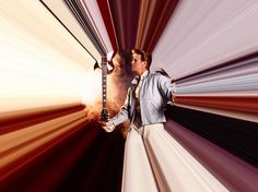Tony McGee - David Bowie in His Time Tunnel, 1989