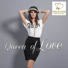 Queen of love #rock #collection   #preview #ss14 #collection #lovely #maisonespin #madewithlove