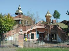 The Hundertwasser Kindergarten in Frankfurt