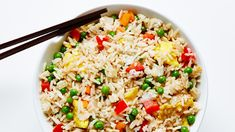 The secret to perfect fried rice every time. Vegetable Fried Rice, Fried Vegetables, Vegetable Recipes, Veggies, Bean Recipes, Rice Recipes, Cooking Recipes, Pan Cooking, Bon Appetit