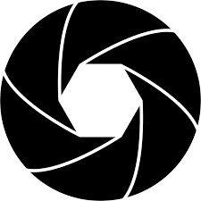 Shutter Lens Svg Camera Logo Film Icon Camera Tattoo Design