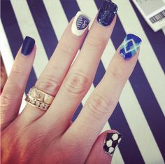 Gameday nails! #SportingKC (via kmarc31 on Instagram)
