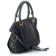 Chloe Marcie Tresse Medium Satchel Handbag