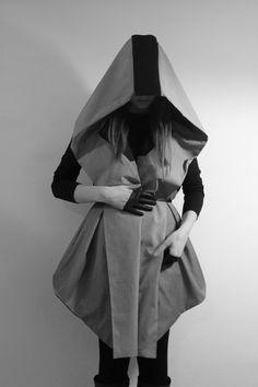 #hooded #shimur #fashion #style #black #photography #mecha #jacket #coat