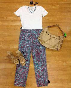 #cm #cmstyle #style #clothes #clothesmentor #mentor #clothesmentorsarasotasouth  Total: $69.50 Bag: $10.00 Shoes: $27.50 (8) Necklace: $6.00 Shirt: $10.00 (s) Pants: $16.00 (4)