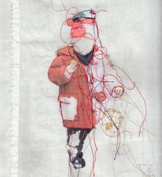Textil Kunst: es wintert