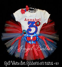 Thomas the Train Inspired  Applique Personalized by 4AngelBabies, $54.95