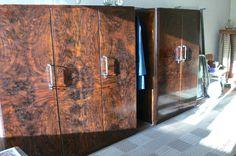 Retro ložnice, dvě postele, velká a střední skříň (6199584213) - Aukro - největší obchodní portál