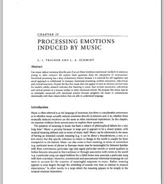 http://psycserv.mcmaster.ca/ljt/16_March_14_TrainorProcessingEmotions.pdf ----- Processing Emotions Induced by Music