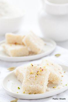 Kobbari Mithai aka Coconut Fudge