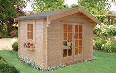 Shire Dalby Log Cabin Range (34mm to 70mm Logs Available) - OFFER ENDS Friday 19th September