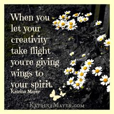 Give your spirit wings