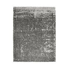 Grey Silk Reflections 5 Ft. x 7 Ft. 6 In. Area Rug
