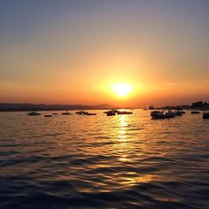 "Páči sa mi to: 9, komentáre: 1 – Martin Bugár (@martinnbugar) na Instagrame: ""More days like this 🙏🏼🤗 #2017 #sunset #sea #boats #blue #enjoyinglife"""