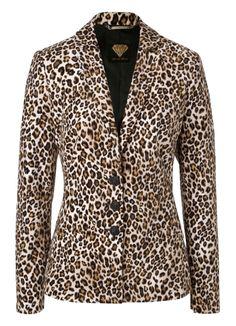 Sarah Kern   Women's Fashion   Blazer in Leo-Optik   #HSE24 #clothing #jacket