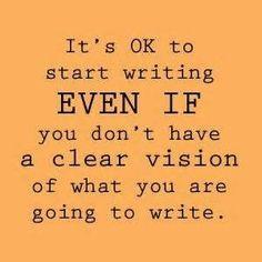 ♥♥╭⊰♥⊱╮Just Write!╭⊰♥⊱╮