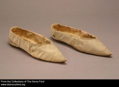 Women's Slippers, 1795-1810 2001.0.113.100 The Henry Ford