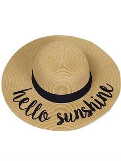 75ae1e05 99 Best Beach hats images | Sombreros de playa, Beach hats, Straw hats