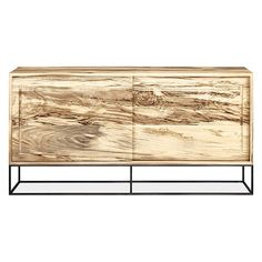 Steen Modern Cabinet with Steel Base - Modern Cabinets - Entryway - Room