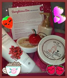 Unboxing Memebox Berrylicious Mystery Box #berryliciousskin  #memebox #memeboxusa #kbeauty
