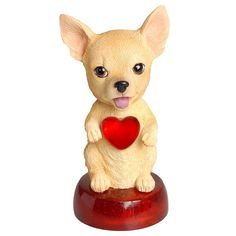 Chihuahua LED Bobble Head