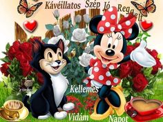 Blue Nose Friends, Smiley, Good Morning, Minnie Mouse, Disney Characters, Fictional Characters, Art, Humor, Pretty Pictures