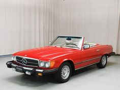 1979 Mercedes-Benz 450 SL - always loved these cars especially in yellow
