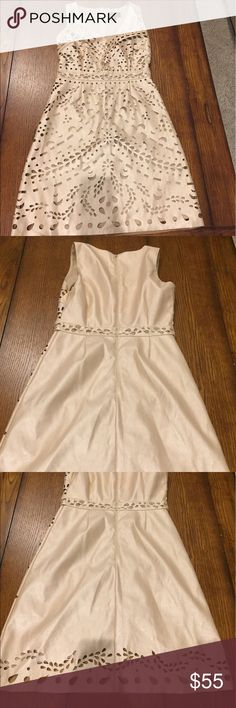 Laundry by Shelli Dress Super cute gold metallic cocktail dress. Laundry by Shelli Segal, really great quality. Like new condition! Laundry By Shelli Segal Dresses