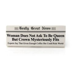 Ask To Be Queen Plaque RGN